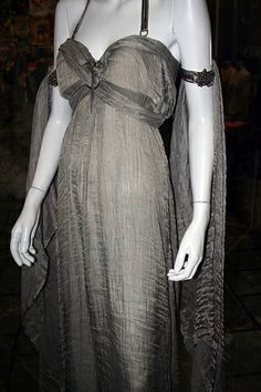 "From ""Game of Thrones"" worn by Emilia Clarke as Daenerys Targaryen design by Michele Clapton"
