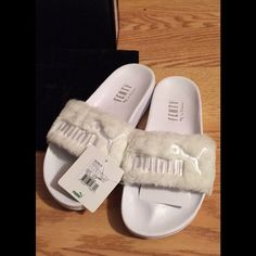 fb42634d7ae218 Shop Women s Puma White size Flats   Loafers at a discounted price at  Poshmark. Description  Brand new. Comes with box and tags.