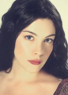 Elven beauty -- Get Liv's natural romantic look from Lord of the Rings Arwen Lotr, Aragorn, Elvish, Arwen Undomiel, Elven Queen, Romantic Look, Hair Images, Portrait Inspiration, Lord Of The Rings