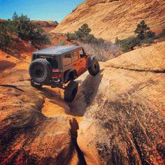 Jeep Wrangler Flexin'
