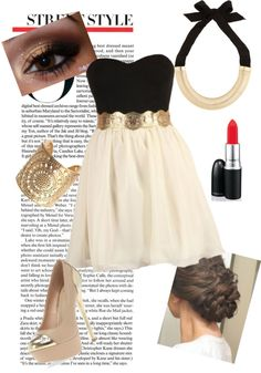 """""""Fancy gold!"""" by oliviawill on Polyvore"""