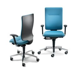 In Touch Office Chairs Black Edition were designed by Martin Ballendat and have won the Red Dot and If Product Design awards. Fabric or leather upholstery. Black Office Chair, Executive Office Chairs, Red Dot Design, Office Seating, Judges, Red Dots, Design Awards, Product Design, Upholstery