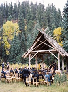 Outdoor Colorado Wedding Venue Out Gold Chiavaris Complement The Scenery Well Don T