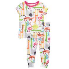 2-Piece Snug Fit Cotton Pj's | Toddler Girl Summer Fun Sale