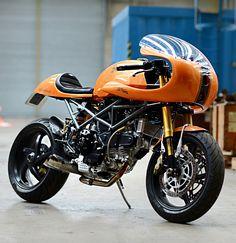 BUCK'S MONSTER DUCAFE by Redmax Speedshop, UK (via the Bike Shed)