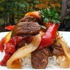 Great Slow Cooker Pepper Steak!