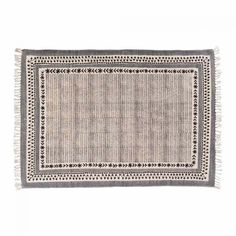 Chatra Embroidered Rug With Hand Blocked Detail Rug 120 X 180 Cm - Rugs