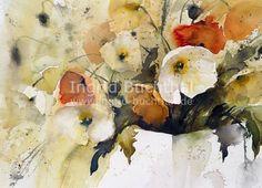 Ingrid Buchenthal - Maps #watercolor jd