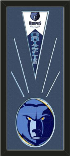 Memphis Grizzlies Wool Felt Mini Pennant & Memphis Grizzlies Team Logo Photo - Framed With Team Color Double Matting In A Quality Black Frame-Awesome & Beautiful-Must For A Championship Team Fan! Most NFL, MLB, NBA, Teams Available-Plz Mention In Gift Message If Need A different Team Art and More, Davenport, IA http://www.amazon.com/dp/B00I3B39QU/ref=cm_sw_r_pi_dp_SdtEub13D3HPJ