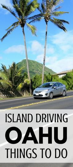 Things to do on Oahu island driving. Scenic drive with DIY circle island driving tour. Hawaii vacation tips - free, cheap, affordable. Stop for easy hikes, snorkeling beaches, food, restaurants, shopping activities. From Waikiki, Honolulu to North Shore, more on day trip itinerary. Start checklist of USA bucket list destinations for world trip adventures on a budget. Save money with travel tips, ideas! Good for destination wedding, honeymoon. #oahu #hawaii