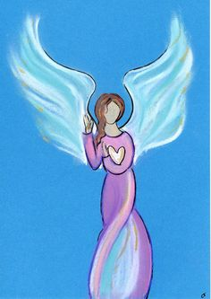 Another loving intuitive angel drawing...get a drawing of your angel at www.angelsco.nl