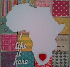 South Africa, my heart is here... come find your heart beat again