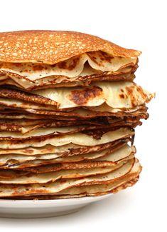 Skinny Cinnamon Toast Pancakes--part of our 25 Breakfasts Under 300 Calories!
