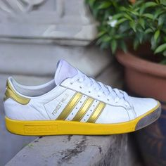 Adidas obyo David Beckham Forest Hills Sneakers: adidas Forest