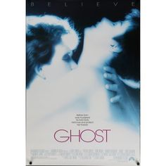 GHOST Affiche de film 69x104 cm - 1990 - Patrick Swayze, Demi Moore, Jerry Zucker