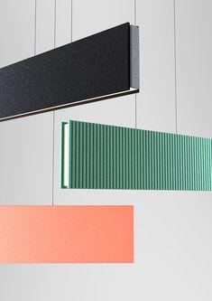Office Lighting, Interior Lighting, Linear Lighting, Lighting Design, Wall Clock Wooden, Floating Lights, Ceiling Hanging, Dimmable Led Lights, Luminaire Design