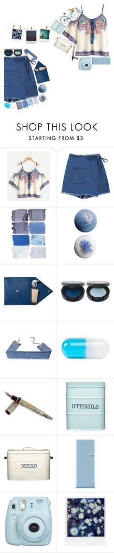 """""""the little things"""" by foxdesigner ❤ liked on Polyvore featuring STOW, Jonathan Adler, Tibaldi, Kitchen Craft, Smeg, Fujifilm and Polaroid"""
