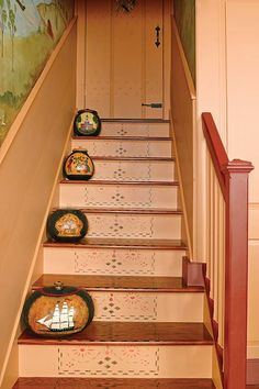 The balustrade design was drawn from an early New England architecture book.