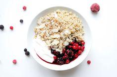 quinoamuesli skor frühstück clean eating rezept