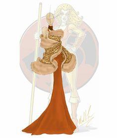 Inspiration: Thundercats (Cheetra) #thundercats #cartoon #cheetra #cat #cats #love #art #fashionaddict #fashionstyle #fashion #fashionillustration #fashiondesigner #fashiondesign #designer #design #illustration #drawing #sketch #sketchbookpro #fur #dress #gown #cheetah #cheetahprint #michaelanthony #madesigns #style