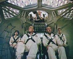 That's Movie Talk! Sci Fi Films, Sci Fi Tv, Raquel Welch, Fantasy Movies, Sci Fi Fantasy, Science Fiction, Image Paris, Donald Pleasence, Sf Movies