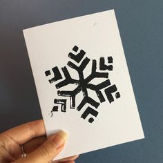 We've got some new products available in our shop ready for the festive season. Check out our snowy cards, it might be the only snow we get! Dark Christmas, Linoprint, Christmas Crafts For Gifts, Lino Cuts, Craft Night, Christmas Illustration, Linocut Prints, Print Patterns, Screen Printing