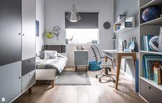 Pokój młodzieżowy (Niebieski) - zdjęcie od VOX - Pokój dziecka - Styl Nowoczesny - VOX