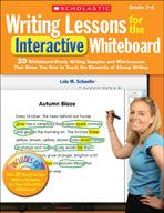 Grades 2-4: Writing Lessons for the Interactive Whiteboard (eBook) cover