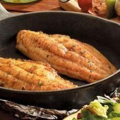 Skillet-Grilled Catfish Allrecipes.com