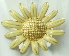 Sunflower Statement Ring/Gold/Spring/Summer Jewelry/Gift For