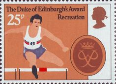25th Anniversary of Duke of Edinburgh's Award Scheme 25p Stamp (1981) 'Recreation'