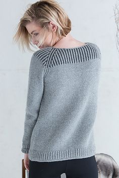 Ravelry: Amherst Pullover pattern by Amanda Scheuzger