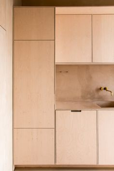 Fabien Van Tomme. Apartment for an art collector, Kitchen. 2013 (http://www.fabienvantomme.be)