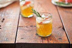 marc forgione rum cider cocktail  honeycrisp cider, spiced rum, simple syrup, lemon juice