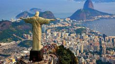 Sunshine, samba, and sports: these three words are pretty perfect when it comes to describing one of the most popular cities in South America - Rio de Janeiro! Rio is famed for its beautiful beaches, annual carnival and Best Places To Travel, Best Cities, Places To Visit, Cristo Corcovado, Visit Rio, Voyager Seul, Brazil Travel, Les Religions, Belle Villa