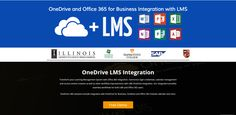 LMS OneDrvice Intgeration | Transform your Learning Management System with Office 365 Integration. Harmonize login credentials, calendar management and course content creation as well as other workflow improvements with LMS OneDrive Integration. Our Integration provides seamless workflows for both LMS and Office 365 users.