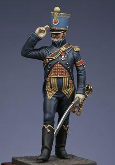Historical figures / Staff : Captain Dreux - Nancré Aide de camp Major General