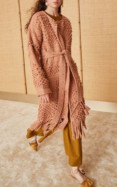 Amara Handloom Coat by Ulla Johnson