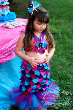 Mermaid Tutu Outfit! #chickiechicbtq