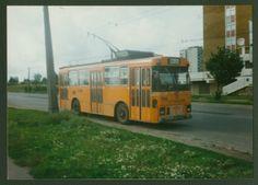 Na zdjęciu fiat 418AC przerobiony na trolejbus. Zdjęcie zostało zrobione przy ul. Zana. źródło; Kurier Lubelski Ul