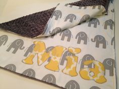grey and yellow elephant baby gear - Google Search