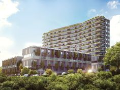 A new $120 million 150-unit apartment block is planned for Auckland CBD's western fringe.  A spokeswoman for property developers Myland Partners said the big new project, Union Green, would be built at 39-47 Union St.