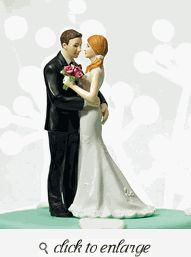 """Cheeky Couple Figurine """"My Main Squeeze"""" - Funny Wedding Cake Toppers - Funny Wedding Cake Ideas - Funny Wedding Cakes"""