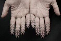 Tattoo Lust: Finger Tattoos Part II   Fonda LaShay // Design