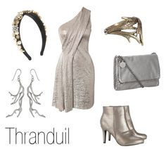 """Thranduil"" by ja-vy ❤ liked on Polyvore featuring Matthew Williamson, Wallis, Dolce&Gabbana, STELLA McCARTNEY, A.L.C., La Corza by Sabo Designs, thranduil and the hobbit"