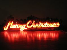Merry Christmas Decoration Sign Vintage