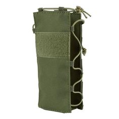 The large tactical water bottle pouch is compatible with authentic molle military gear, allowing you to add a wide variety of attachments and customizing your gear in countless unique ways.