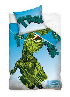 """Animal Planet """"T-rex kreskówka"""" pościel 140x200"""