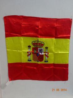 Pañuelo de España 50.5 X 50.5 cm. #ArticulosParaFiestasBogota #DecoracionTematicaMundialistaMedellin