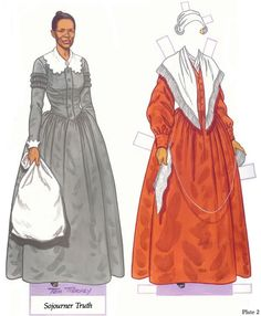 Sojourner Truth paperdoll
